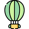 Hot Air Balloon to South Asia