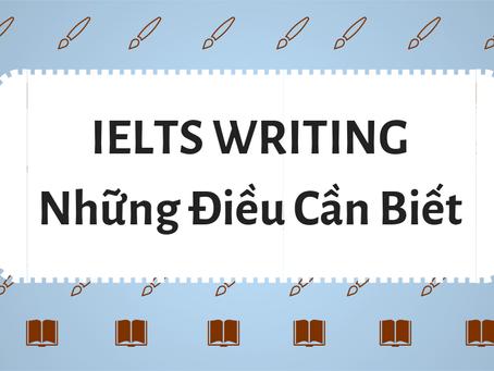 TỔNG QUÁT IELTS WRITING