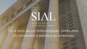 Em 4 anos da Lei Anticorrupção, União abre 183 processos e penaliza 30 empresas
