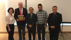 Fundadora da SIAL é convidada para receber delegação da Indonésia em Goiás