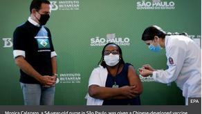Brazil approves and rolls out AstraZeneca and Sinovac vaccines