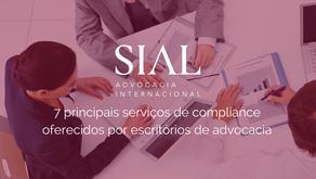 7 principais serviços de compliance oferecidos por escritórios de advocacia