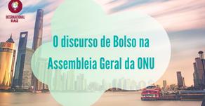 O discurso de Bolsonaro na Assembleia Geral da ONU