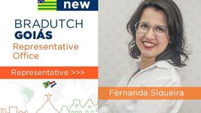 [Vídeo] Fernanda Siqueira é designada representante da Bradutch em Goiás