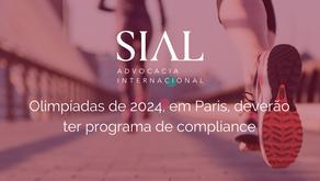Olimpíadas de 2024, em Paris, deverão ter programa de compliance