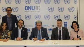Fundadora da SIAL prestigia solenidade de adesão ao Pacto Global da ONU pelo CREA-GO