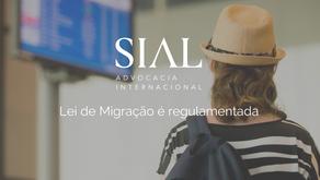 Lei de Migração é regulamentada