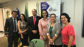 SIAL's founder attends course of trade barriers at Federation of Industries of Goias - FIEG