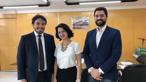 Fundadora da SIAL se reúne com o novo presidente da Junta Comercial do Estado de Goiás