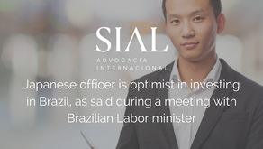 Japanese officer is optimist in investing in Brazil, as said during a meeting with Brazilian Labor m