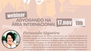 1º debate que organizo como Presidente da Comissão de Direito Internacional da OAB-GO!