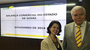 Fundadora da SIAL é convidada para a reunião de apresentação da balança comercial de Goiás