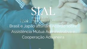 Brasil e Japão assinam Acordo sobre Assistência Mútua Administrativa e Cooperação Aduaneira
