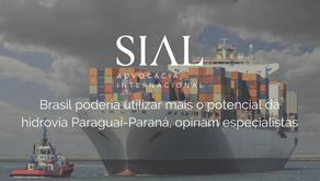 Brasil poderia utilizar mais o potencial da hidrovia Paraguai-Paraná, opinam especialistas