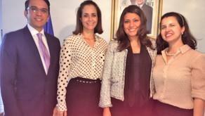 Embaixada de El Salvador no Brasil repercute visita de representantes do IBREI