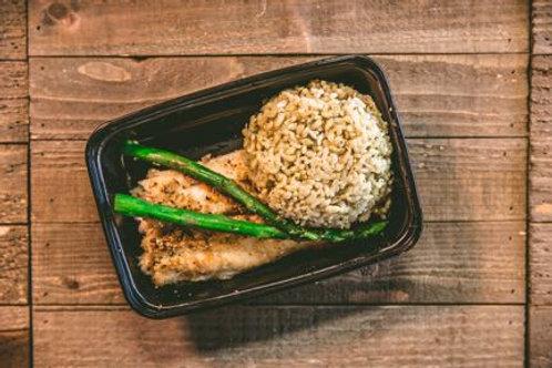 Swai Fish and Rice