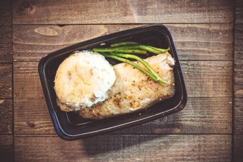 Swai Fish and Mashed Potatoes