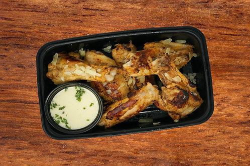 Garlic Parmesan KETO Wings