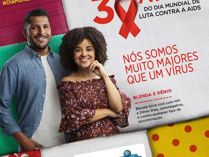 Ministério da Saúde lança campanha para comemorar Dia Mundial de Luta Contra a Aids