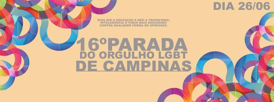 16º Parada Orgulho LGBT de Campinas