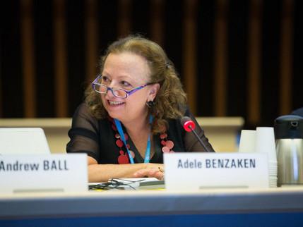 Adele Benzaken Diretora do DIAHV é nomeada membro do STAC em Genebra