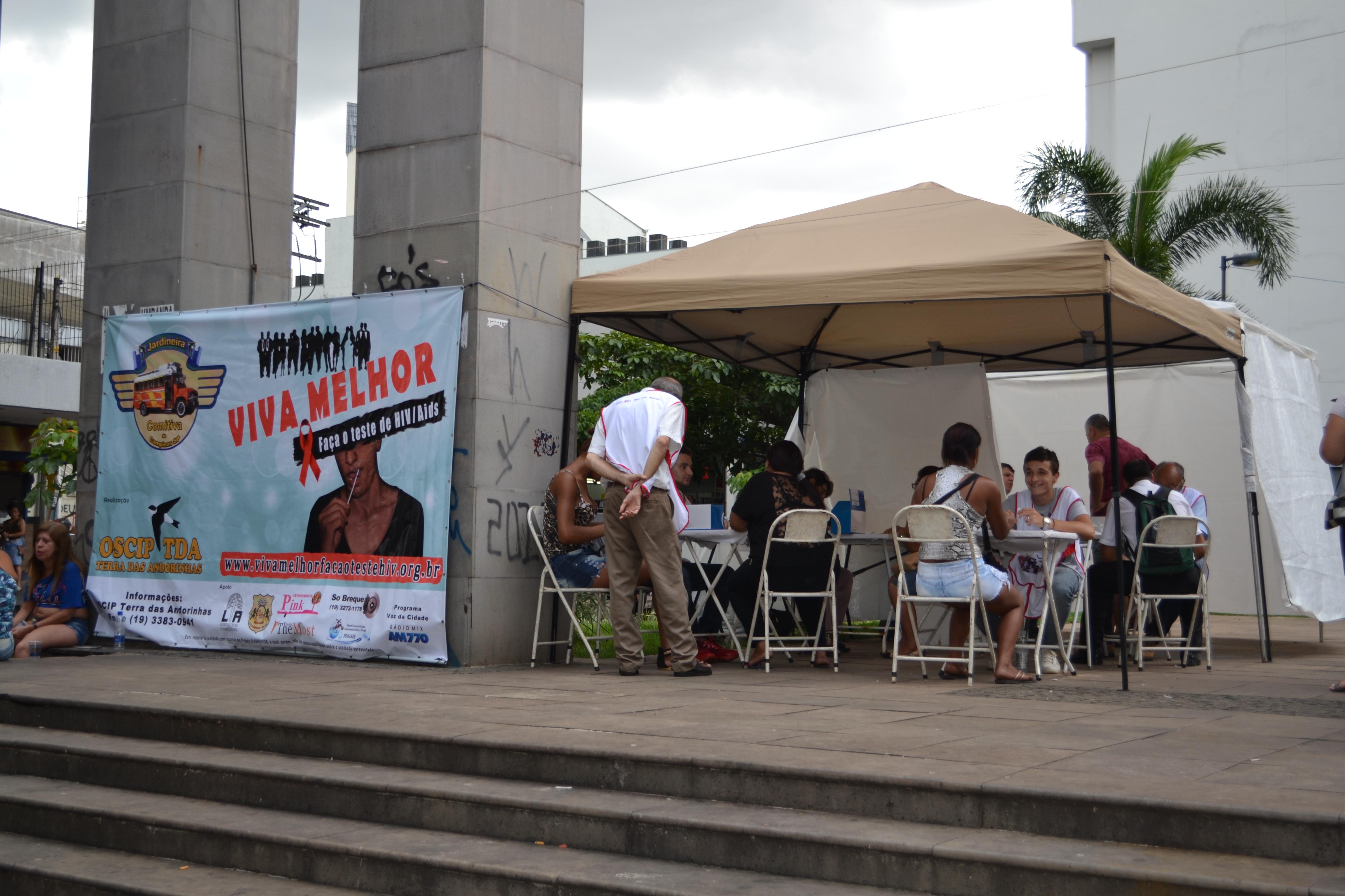Viva Melhor - Faça Teste de HIV/AIDS