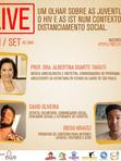 LIVE - Um olhar sobre as juventudes, o HIV e as ISTs num contexto de distanciamento social