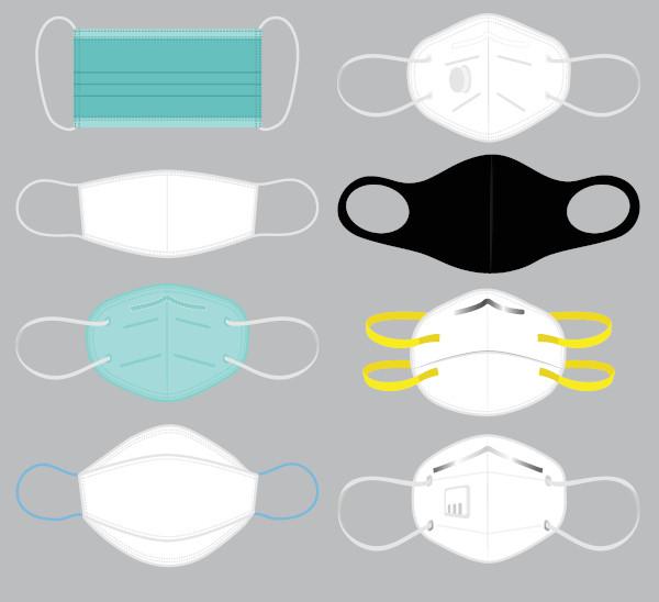 Modelos de mascaras