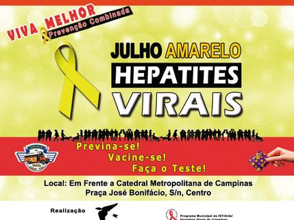 Testagem para hepatite C nesta quinta-feira em Campinas