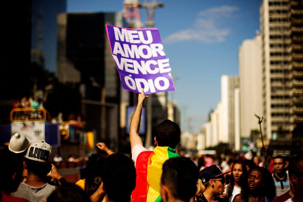 Parada do Orgulho LGBT em São Paulo, 2015. Foto: Leo Pinheiro / Fotos Públicas