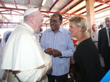 UNAIDS elogia apelo do Papa Francisco por um mundo sem discriminação