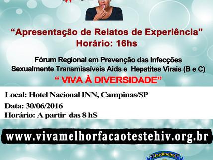 Fórum Regional em Prevenção das Infecções Sexualmente Transmissíveis,               Aids e Hepatites