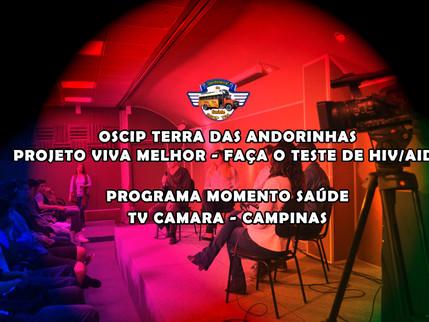 TV CÂMARA: PROJETO VIVA MELHOR NO PROGRAMA MOMENTO SAÚDE 15/06/2016