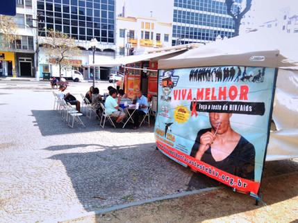25 e 26/09/2017 - Apoio da EPTV CAMPINAS (GLOBO): Divulgação do VIVA MELHOR - FAÇA O TESTE DE HIV/AI