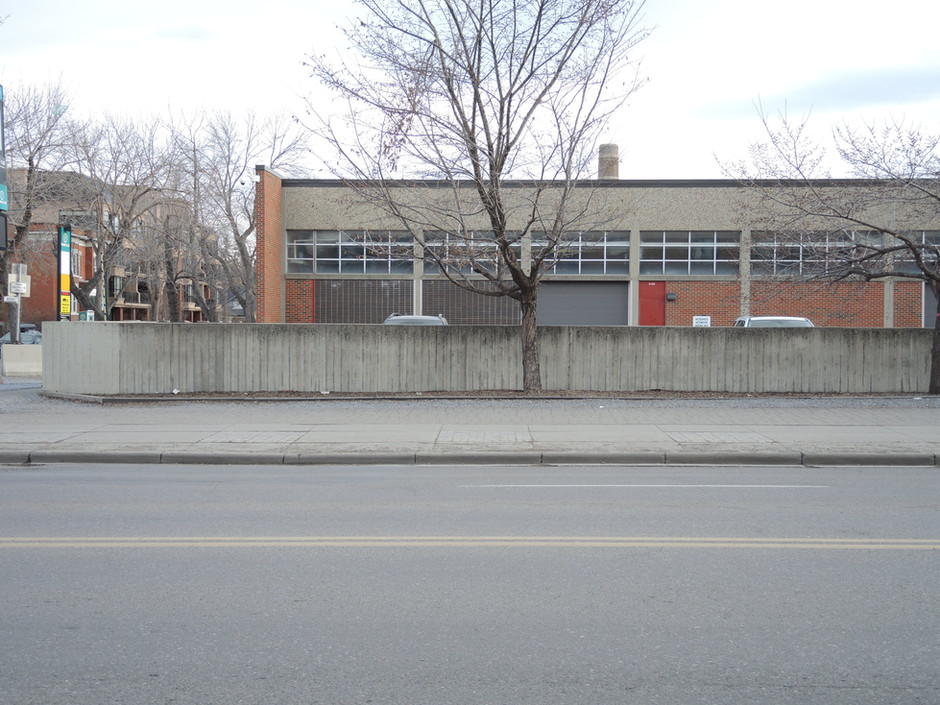 Existing Site | 17th Ave Pocket Sqauare Calgary