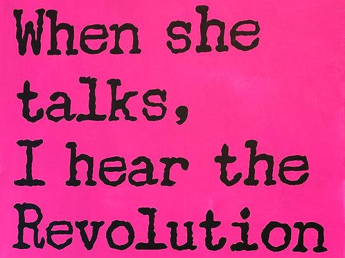 When She Talks (original)