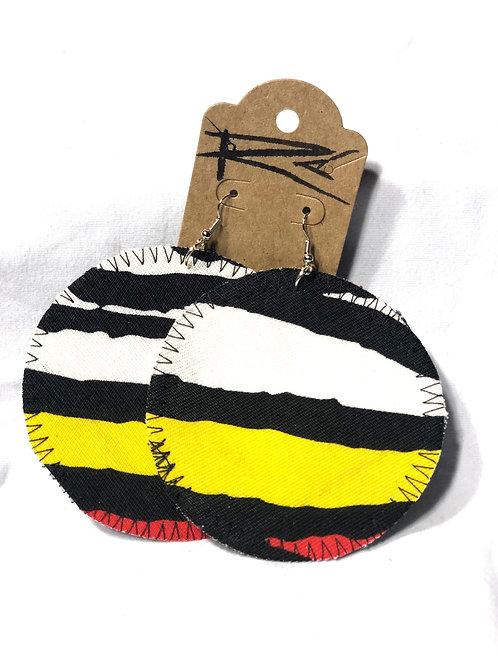 Vibrant Zebra (earrings)