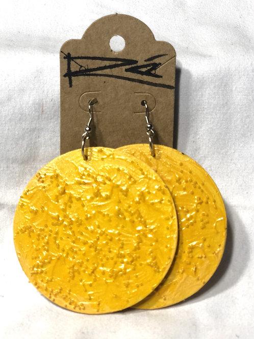 Yellow Moon (earrings)