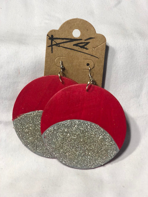Red Moon (earrings)