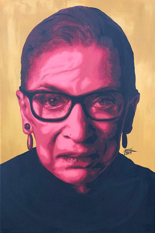 The Notorious RBG (original) SOLD