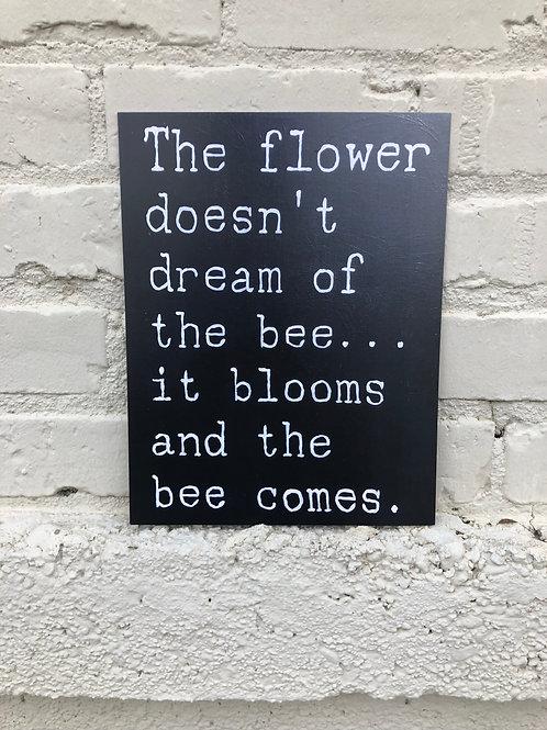Bees & Flowers PRINT