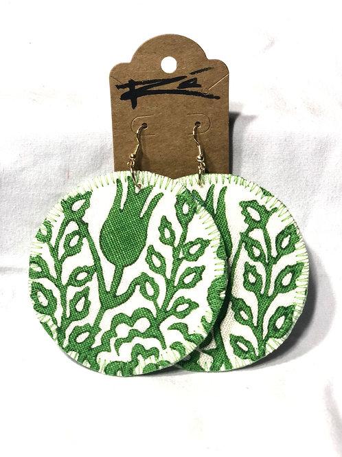 Green Foliage (earrings)