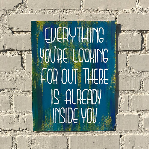Inside You PRINT