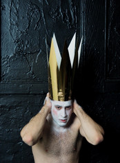 Make up for promotional materilal - Photographed by Anna Gardiner