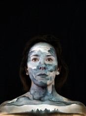 Make up for promotional material - Phototgraphed by Anna Gardiner