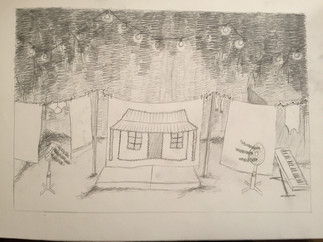 Concept drawing - 'Babes in the Woods'
