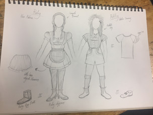 Costume Designs - 'Babes in the Woods'
