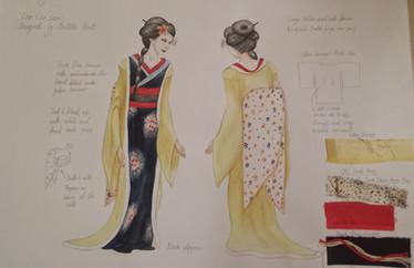 Costume Design - 'Cho Cho San'