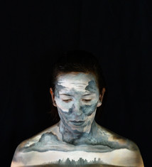 Make up for promotional material - Photograped by Anna Gardiner