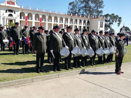 DESTACADA PRESENTACIÓN DE LAS BANDAS DE GUERRA E INSTRUMENTAL DEL CUERPO DE BOMBEROS DE VALPARAÍSO E